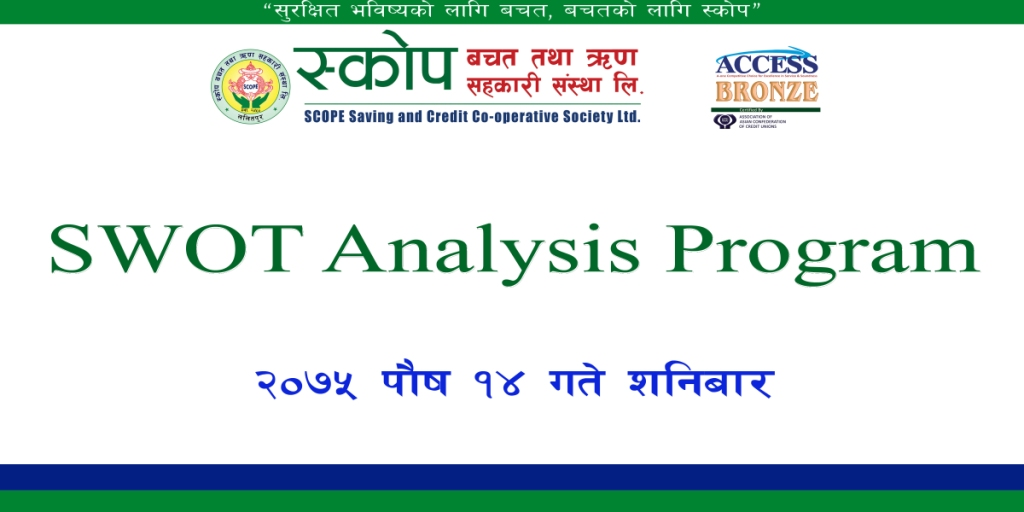 SWOT Analysis Program