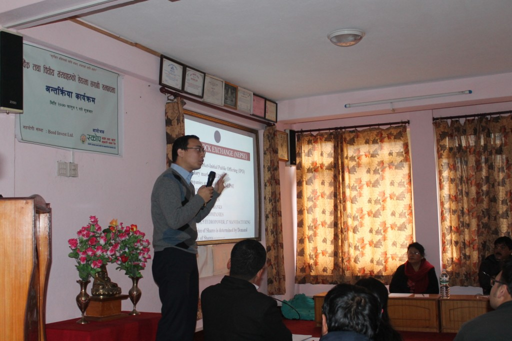 Beed Management Interaction Program