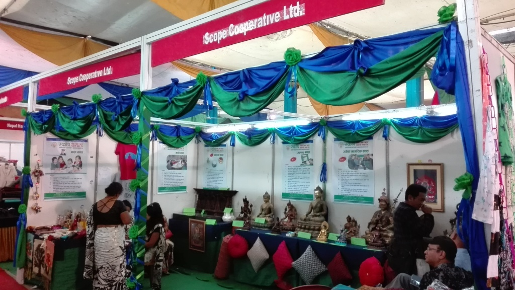 SCOPE stall at 13th Handicraft Fair of FHAN