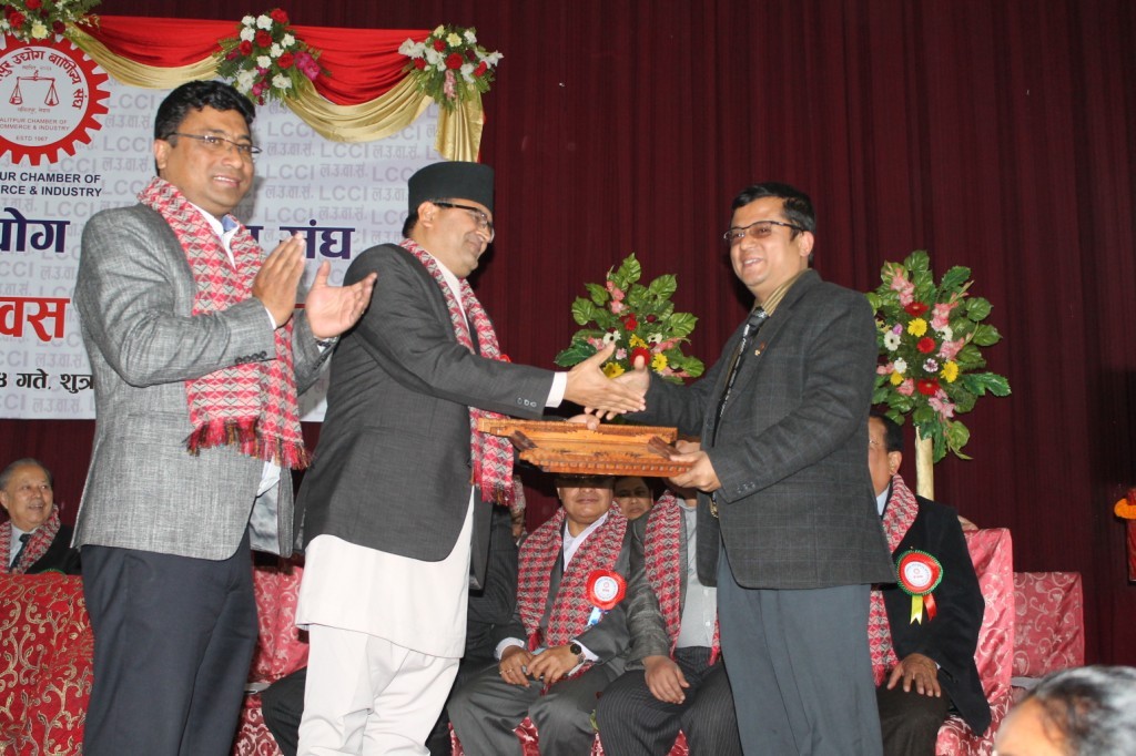 Lalitpur Chamber of Commerce  & Industry Awarded to SCOPE